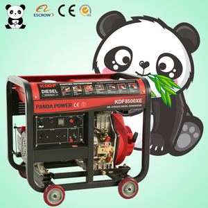 6-15kva generator Panda Spare/Standby Water air cooled diesel generator sets welder factory price custom made in China SGS