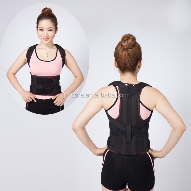 Factory directly bad posture corrector / Orthopedic back support belt for lumbar spinal traction