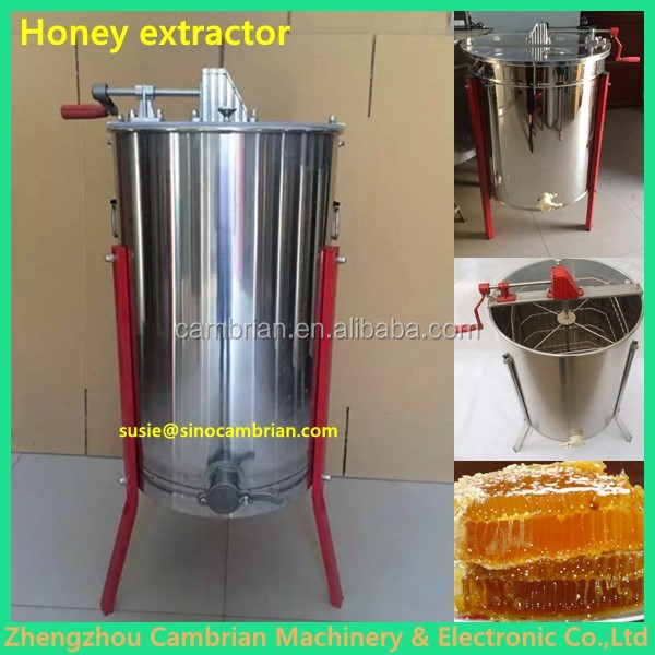 Hot selling radial automatic honey extractor with lowest price