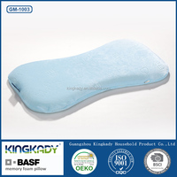 KINGKADY Wholesale Baby Health Care Neck Support BASF Memory Foam Bamboo Pillow