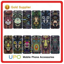 [UPO] Special Design Luminous relief Animal Painted Hard PC Plastic Cell Phone Cover Case for Iphone 6 6S
