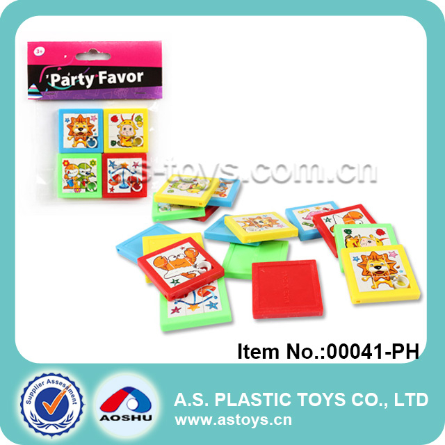 Party Favor funny mini sliding puzzle jigsaw