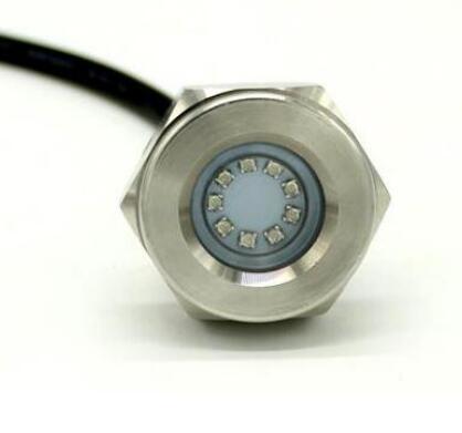 RGB Stainless Steel Drain Plug LED Light