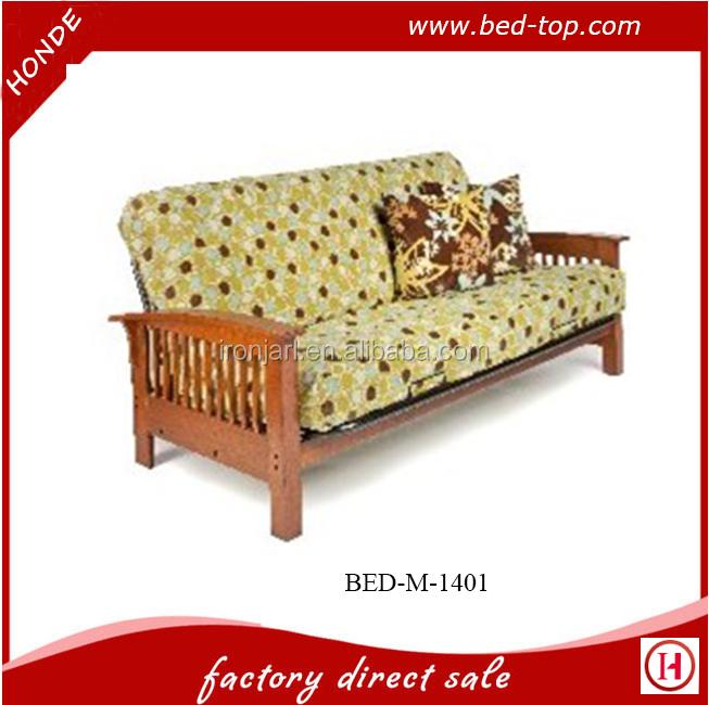 Woonkamer meubels vouwen futon slaapbank met metalen frame y woonkamer sofa product id - Sofa smeedijzeren ...