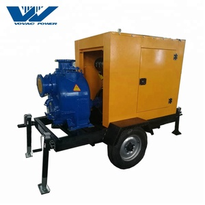 6 Inch P Type Diesel Self-Priming Water Pump With Best Price