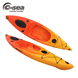 single sea kayak sit in kayak with CE supply from kayak factory with fixed pedal