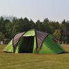 family Double layer 6-8 person camping tent