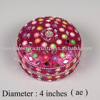 Fancy Jewellery Box Buy Silver Indian Jewellery BoxGlass Mirror
