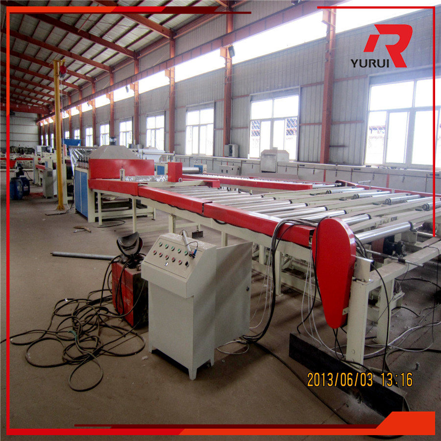 High automatic PVC sheet laminated gypsum ceiling board making machine