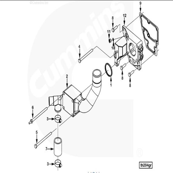 Wix Inline Fuel Filter 5 16