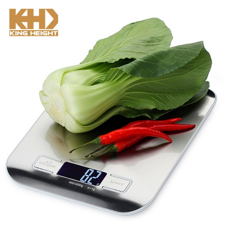 KH-0046 Food Portable Stainless Steel Mini Platform Electronic Precision Digital Kitchen Scale