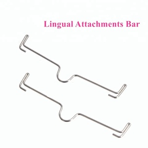 Dental palatal bar Orthodontic Lingual Attachments Arch Bars