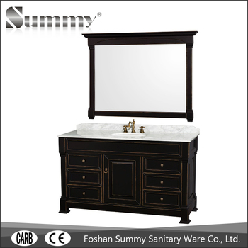 Modern English Country Style Bathroom Cabinet Furniture