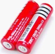 Protected 8650 rechargeable battery 3000mAh
