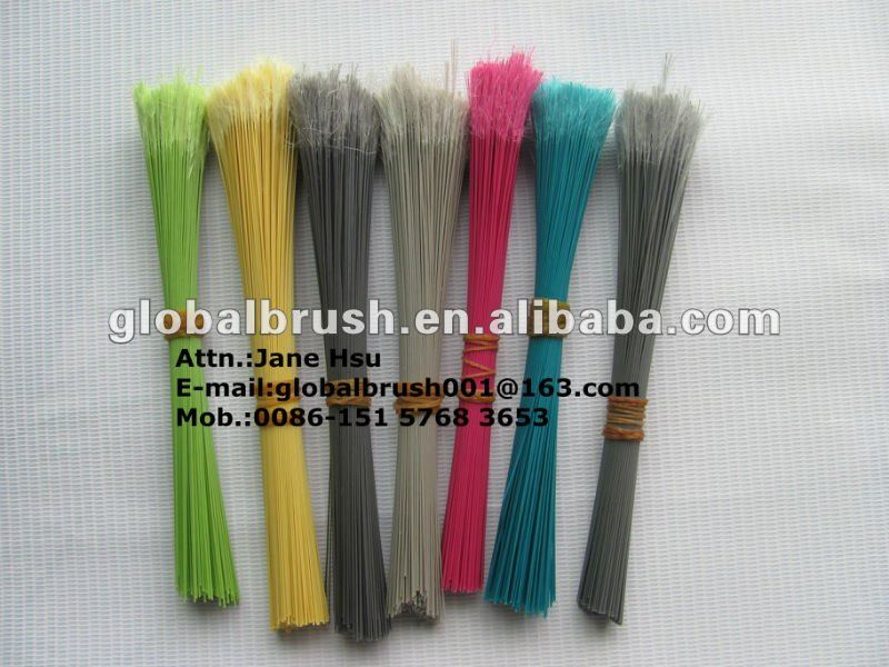 HQ001 brush filament manufacturer in Taizhou/flaggable recycled PET broom mono filament