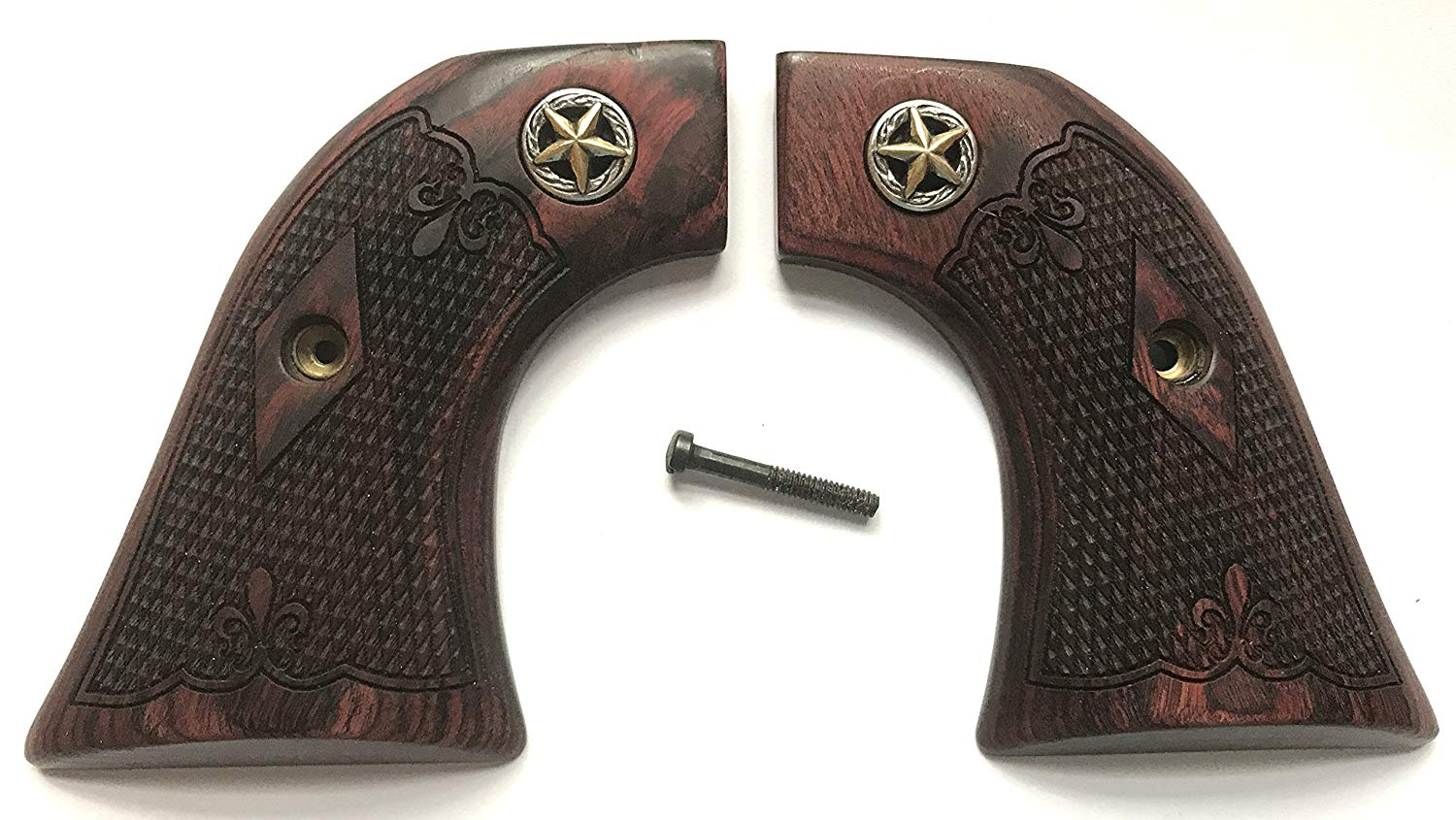 Buy Ruger New Model Vaquero Checkered Rosewood Grips