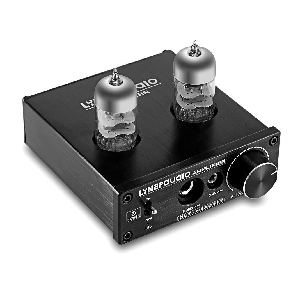 Mini Headphone Amplifier USB LINEPAUDIO Vacuum Tube Preamp Portable Amp HiFi Audio Stero ASIO Sound Card Interface