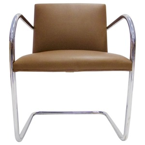2018 hot sale leather ludwig mies van der rohe brno chair