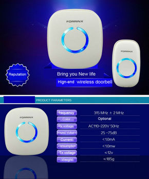 52 Tune Melody Wireless Digital Door Bell Chime Alarm Wireless doorbell wholesale suppliers manufacturers