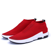 2018 knit fashion mens trainers sneaker casual shoes men sneakers sock running shoes