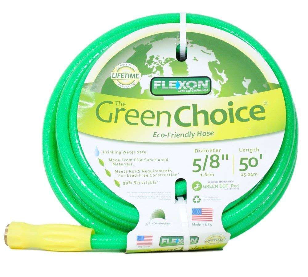 03114750f48 Get Quotations · Flexon Green Choice 50 Foot Hose Lead Free 99% Recyclable