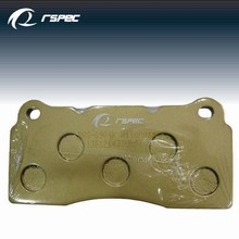 RSPEC D602 for mitsubishi used tractor brake pad made in Taiwan