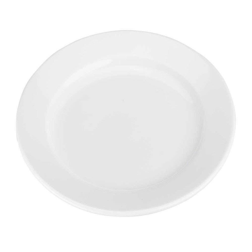 BIA Bistro White Porcelain 6.5 Inch Bread Plate