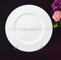 wholesale ceramic white dinner plate wedding,hotel used dinner plates