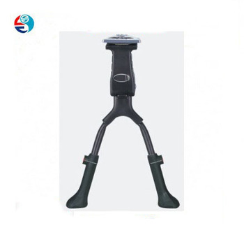 high quality Double bicycle kickstand aluminum double bike kickstand