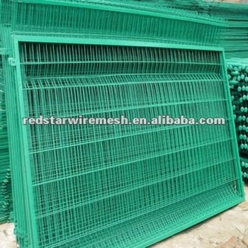 PVC Wire Mesh Fence Panel/decorative Garden Wire Fence Panels