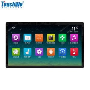 "Factory 32"" WIFI RJ45 Wall Mount Touch Screen Android Tablet for Commercial Automation"