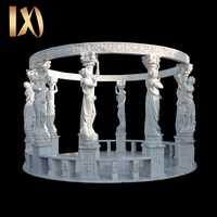 stone garden products carved natural marble gazebo
