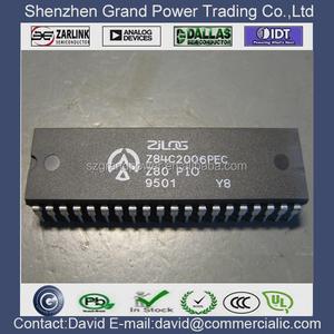 Z84C2006PEC IC 6MHZ Z80 CMOS PIO 40-DIP
