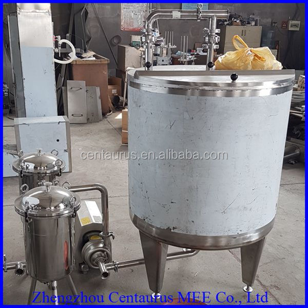 Water cooling type commercial industrial milk pasteurizer for yoghourt