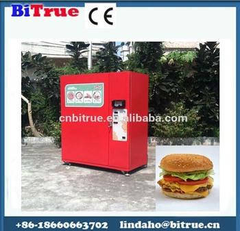 hamburger vending machine