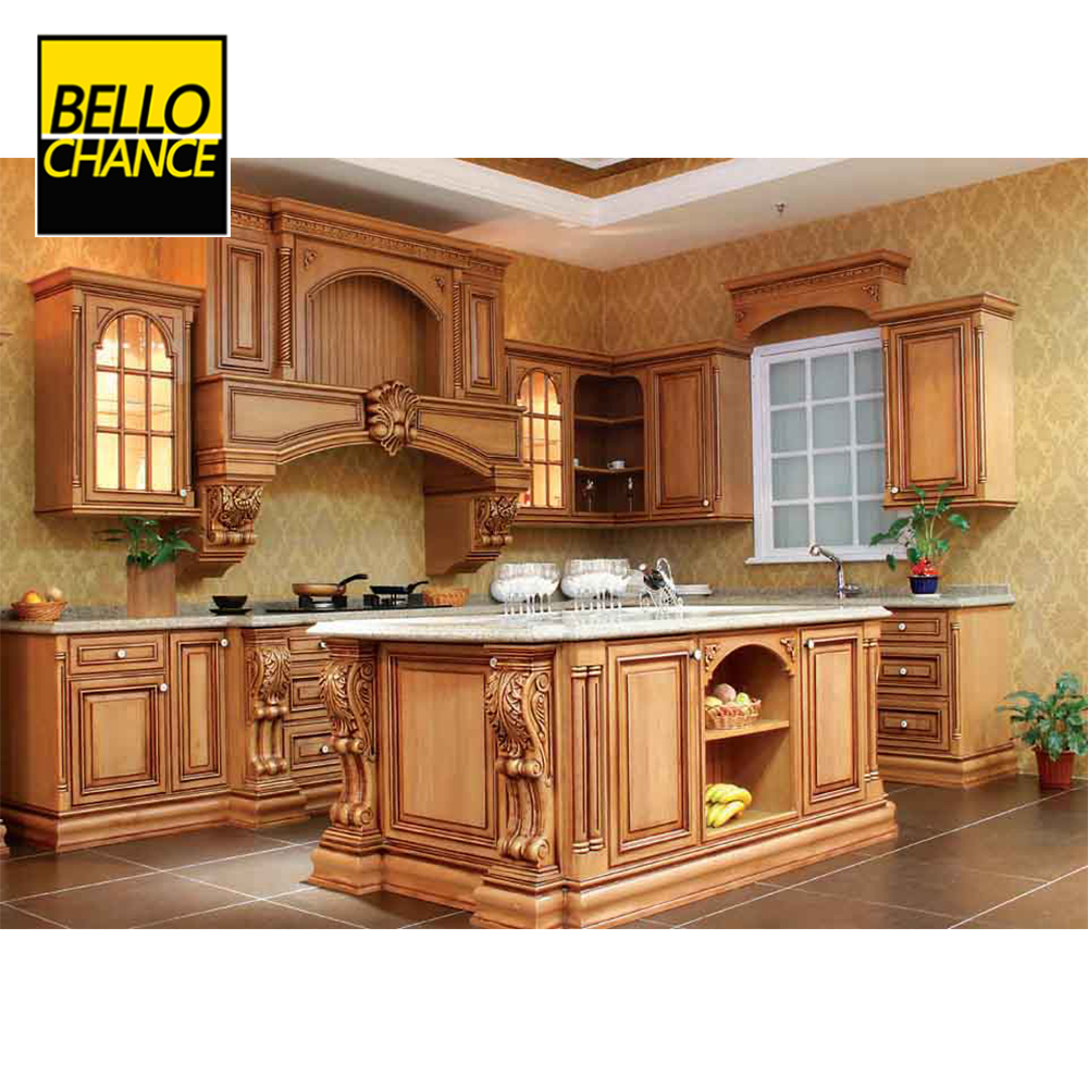 American solid wood kitchen cabinet And Kitchen Furniture