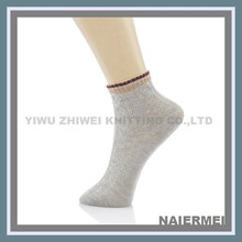 Quality Wholesale Fancy Knitted Mens Amkle Socks