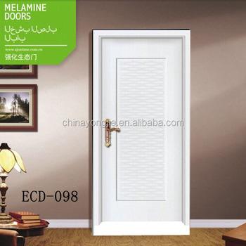 Melamine Flush Door Mdf Interior Door White Melamine Kitchen Cabinet