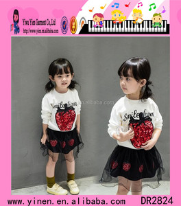 Frock Design Girls Casual Clothes Indian Baby Girls Casual Clothes