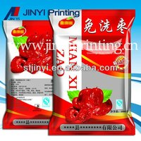 Hot selling printed laminated packaging frozen fruit bag
