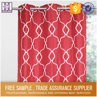 Wholesale New Style free window curtain patterns