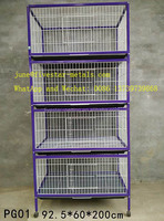foldable iron wire birdcages, parrot cage