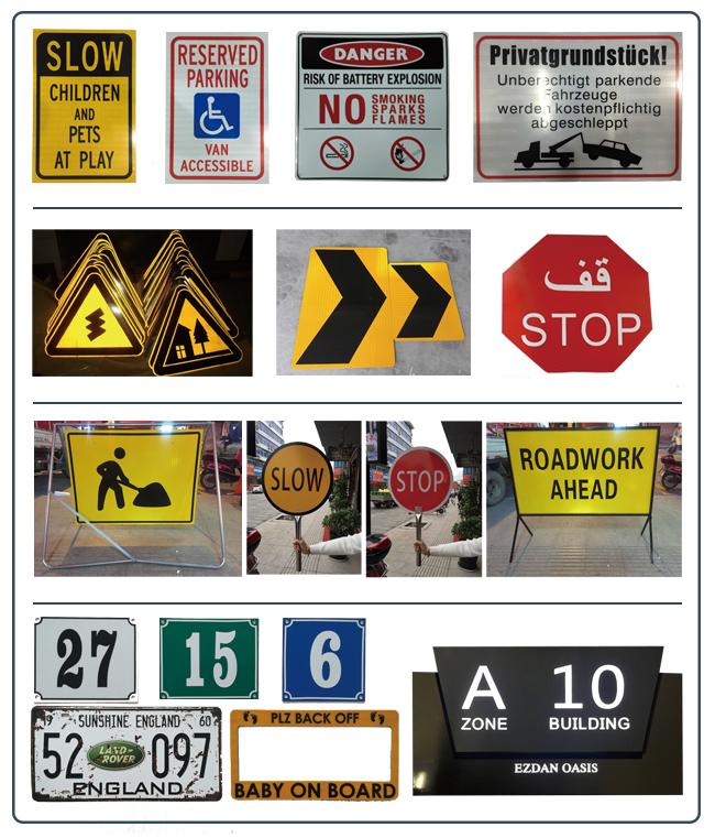 Contrôle de la circulation à main arrêt lent signes
