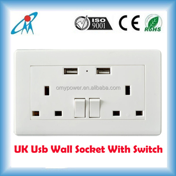 uk standard malaysia korea singapore wall socket with usb plug power plug socket power socket usb