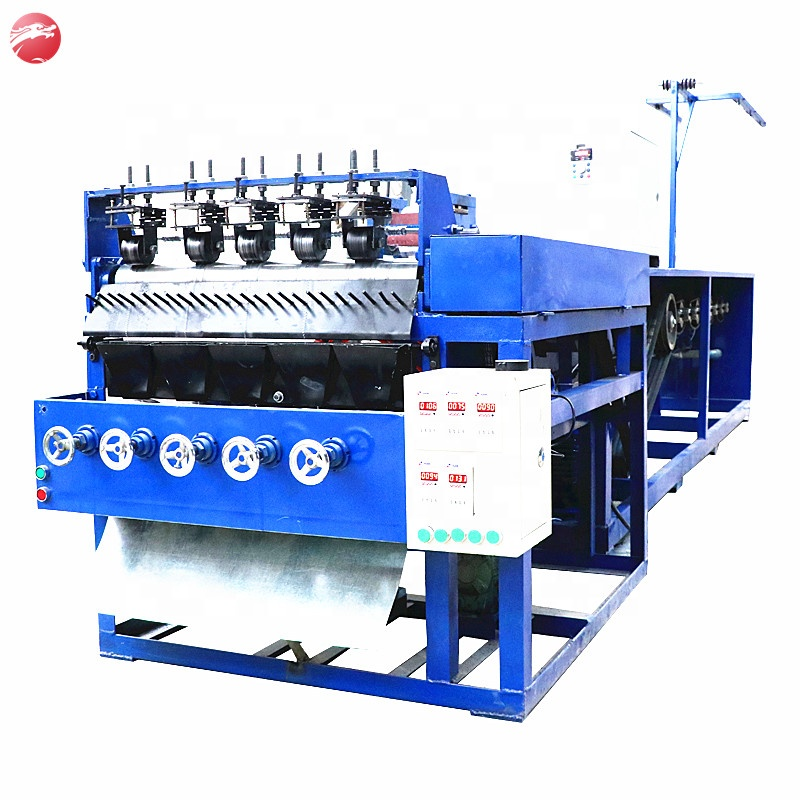 Automatic Spiral Stainless Steel Scourer Scrubber Making Machine