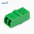 Supply low Insertion Loss LC/APC/UPC Singlemode/ multimode simplex / duplex fiber optic adapter
