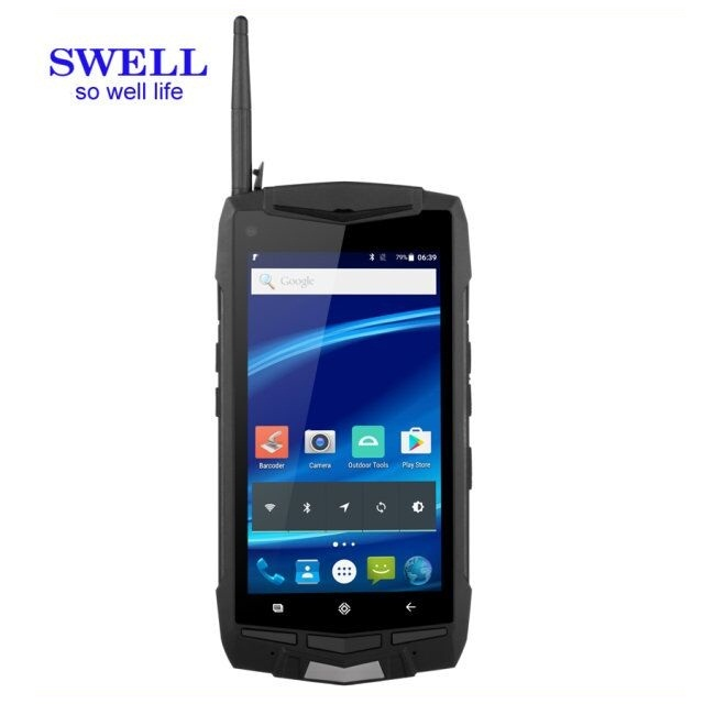 industrial handheld android phone rugged smartphone scanner pda window