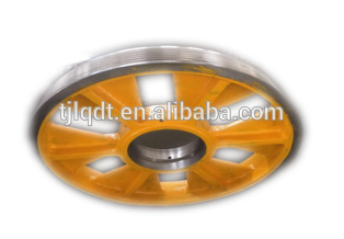 Mitsubishi lifting equipment lifts elevator diversion sheave of elevator accessories parts