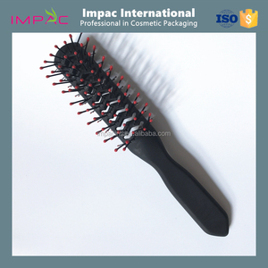 Unique new design plastic skeleton double sided hair brush