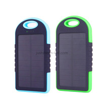 2017 ShenZhen Portable Mini Mobile Solar Soft Touch Slim Custom Rohs Power Bank Charger 4000mAh with LED Light